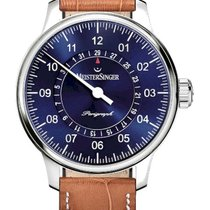 Meistersinger AM1008_SG03W Steel 2020 Perigraph 43mm new