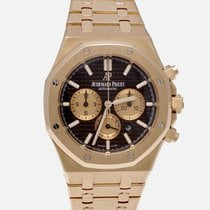 Audemars Piguet Or rose Remontage automatique 41mm occasion Royal Oak Chronograph