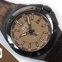 IWC Ingenieur AMG Ceramic 46mm Brown Arabic numerals