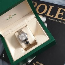 Rolex Silver Automatic 26mm pre-owned Lady-Datejust