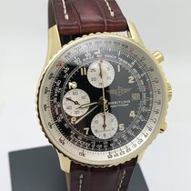 Breitling Old Navitimer Yellow gold 41mm Brown Arabic numerals