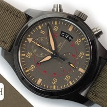 IWC Pilot Chronograph Top Gun Miramar Ceramic 46mm Grey Arabic numerals
