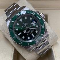 Rolex Submariner Date Steel 40mm Green No numerals United States of America, Virginia, Arlington