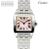 Cartier Santos Demoiselle Сталь 20mm Розовый