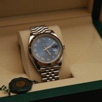 Rolex Datejust Gold/Steel 41mm Blue Roman numerals Malaysia, Kajang