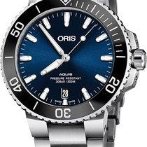 Oris Aquis Date Steel 41.5mm Blue
