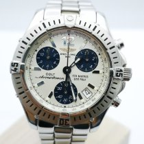 Breitling Colt Quartz Steel 38mm Silver