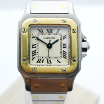 Cartier 1170902 Oro/Acciaio 1995 Santos (submodel) 24mm usato