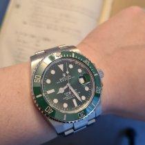 Rolex Submariner Date Steel 40mm Green No numerals Australia, South Melbourne