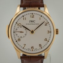IWC IW524202 Very good Rose gold 43mm Manual winding