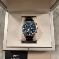 IWC Pilot Chronograph Steel 43mm Blue Arabic numerals United States of America, Texas, Houston