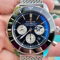 Breitling Superocean Héritage II Chronographe Steel 44mm Black No numerals United States of America, Texas, Plano