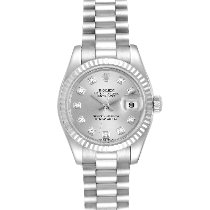 Rolex 179179 Or blanc 2001 Lady-Datejust 26mm occasion