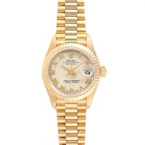 Rolex Lady-Datejust Yellow gold 26mm Champagne Roman numerals United States of America, Georgia, Atlanta