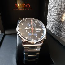 Mido Commander neu 2019 Automatik Chronograph Uhr mit Original-Box und Original-Papieren M016.414.11.041.00