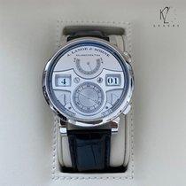 A. Lange & Söhne Platinum Manual winding Silver Arabic numerals 44.2mm new Zeitwerk