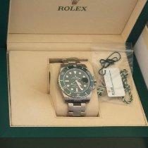 Rolex Submariner Date Steel 40mm Green No numerals UAE, Business Bay