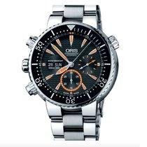 Oris Titane Remontage automatique Noir 46mm occasion Carlos Coste Limited Edition