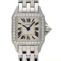 Cartier WF9005Y8 White gold Santos Demoiselle 24mm pre-owned