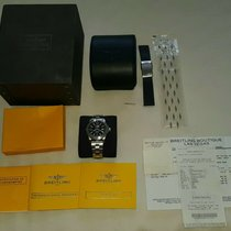 Breitling Colt 44 Steel 44mm Black Arabic numerals