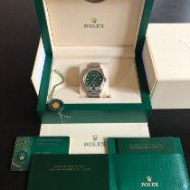 Rolex Oyster Perpetual 36 Acier 36mm Vert Sans chiffres France, PARIS