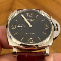 Panerai Luminor Due Acier 45mm Noir Arabes France, Paris
