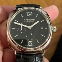 Panerai Radiomir 10 Days GMT pre-owned 47mm Black Date GMT Buckle