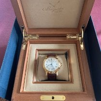 Breguet 5817BA/12/9V8 Yellow gold 2017 Marine 39mm new