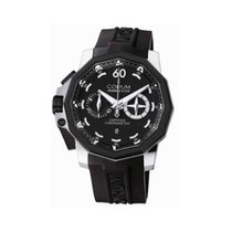 Corum Admiral's Cup Seafender 50 Chrono LHS Acero 50mm Negro