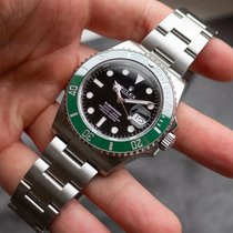 Rolex Steel Automatic Black 41mm new Submariner Date