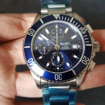 Marcello C. Tridente Steel 44,2mm Blue