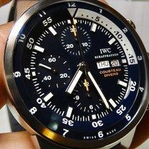 IWC Aquatimer Chronograph Aço 44mm Azul