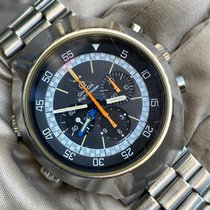 Omega Flightmaster Acero 43mm Gris