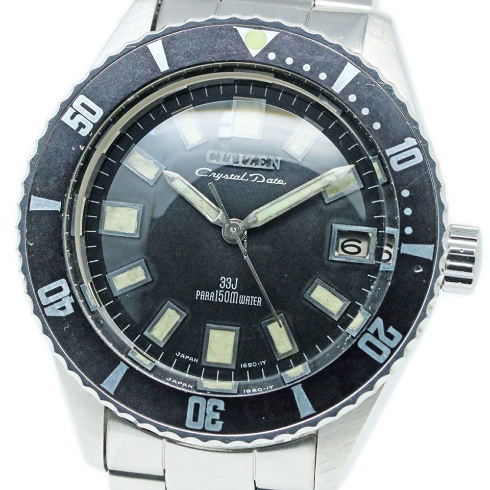 Citizen 52802-Y 1968 pre-owned