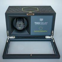 TAG Heuer Carrera Heuer-02T Titan 45mm Grau