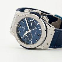 Hublot Classic Fusion Chronograph Titanio 42mm Azul Sin cifras