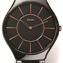 Rado True Thinline Ceramic 39mm Black