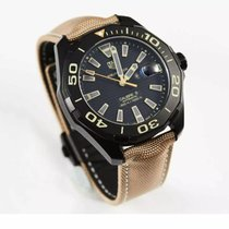 TAG Heuer Titanium Automatic Black 43mm new Aquaracer 300M