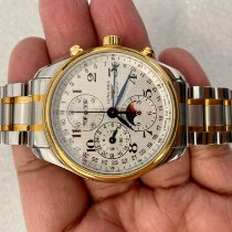 Longines Master Collection Gold/Steel 42mm Silver
