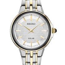 Seiko Solar Steel 29mm Silver No numerals United States of America, New York, Bellmore