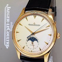 Jaeger-LeCoultre Master Ultra Thin Moon pre-owned 39mm Champagne Leather