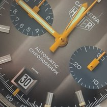 Heuer new Automatic Guilloché dial 39mm Steel Mineral Glass