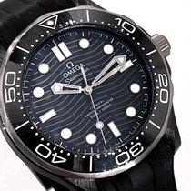 Omega Seamaster Diver 300 M Cerámica 43.5mm Negro Sin cifras