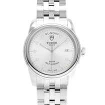 Tudor Glamour Date-Day Steel 39mm Silver