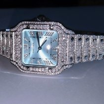 Cartier Santos (submodel) Steel 35mm Silver Roman numerals United States of America, California, 91789