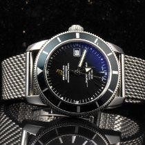 Breitling Superocean Héritage 42 подержанные 42mm Черный Дата Сталь
