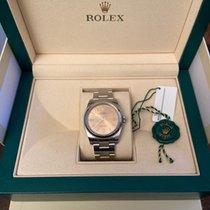 Rolex Oyster Perpetual 36 Acier 36mm Argent Arabes France, Cergy