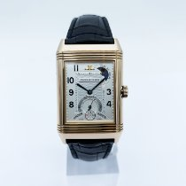 Jaeger-LeCoultre Or rose Remontage manuel Argent occasion Reverso (submodel)