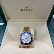 Rolex Yacht-Master II Or jaune 44mm Blanc Sans chiffres France, Paris