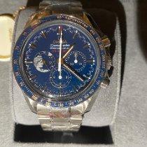 歐米茄 Speedmaster Professional Moonwatch 鋼 42mm 藍色 無數字 香港, 000